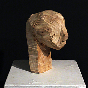 Chainsaw Fetish, Birch Burl, 2013